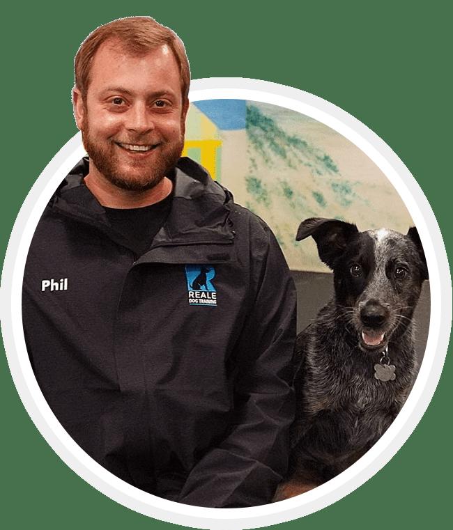 Phil Reale, Owner & Certified Karen Pryor Academy Dog Trainer